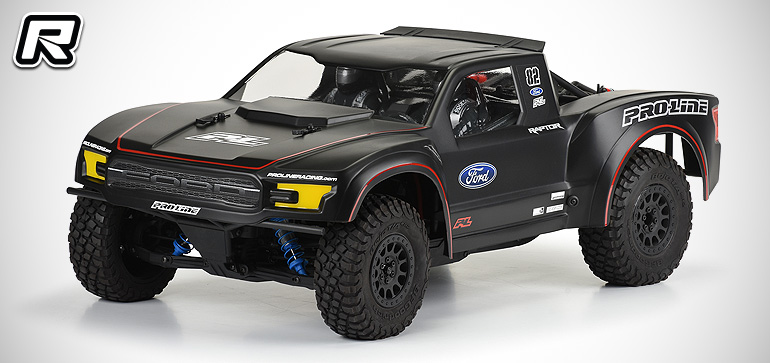 Coming From Pro Line Is The 2017 Ford F 150 Raptor Bodyshell For Use With Axial S Yeti Trophy Truck Resembling Mean Looking Body A