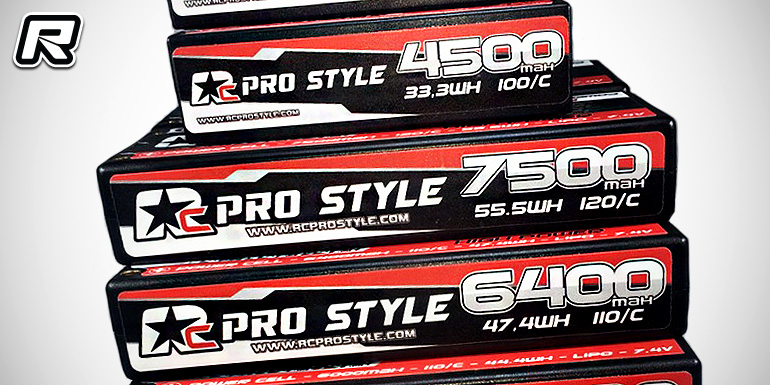RC Prostyle LiPo battery packs