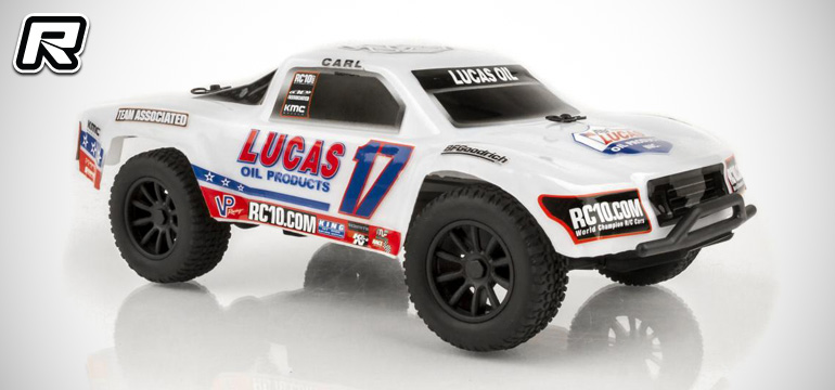 Team Associated SC28 Lucas Oil ready-to-run truck