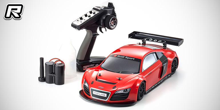 Red Rc Rc Car News 187 Kyosho Fw 06 Audi R8 Lms Red Readyset