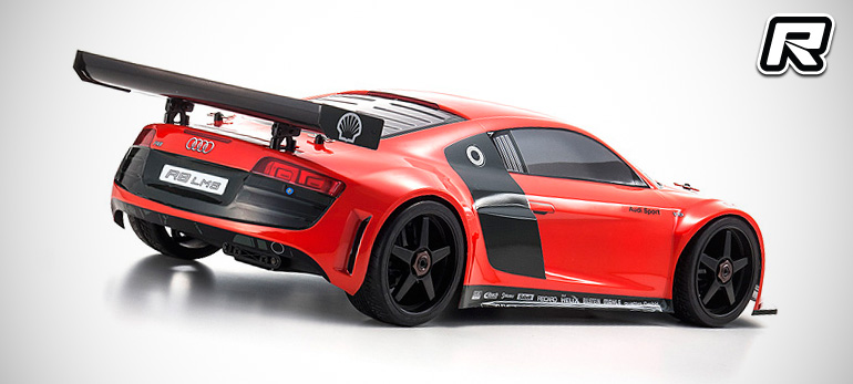 red rc rc car news kyosho inferno gt2 audi r8 lms red. Black Bedroom Furniture Sets. Home Design Ideas