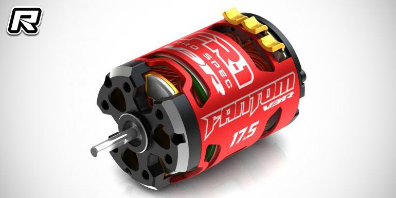 Red rc rc car news fantom fr 1 v3 pro spec brushless motor for Brushless motor ceramic bearings