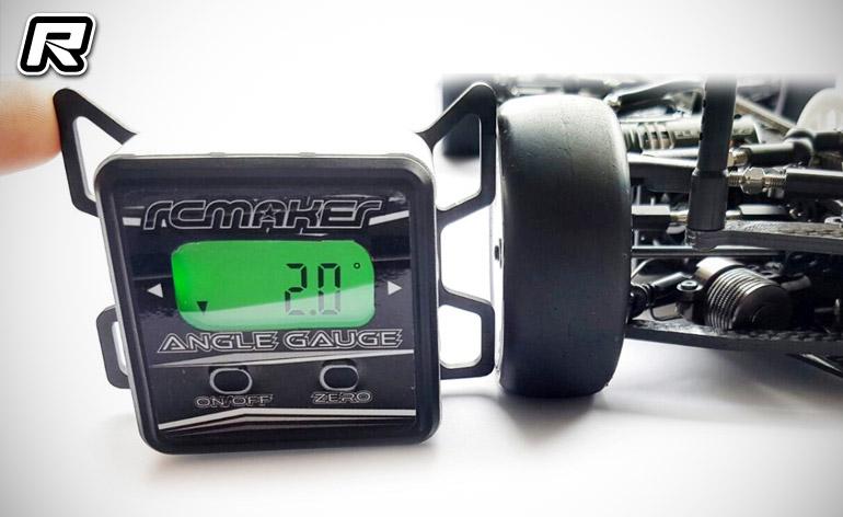 Red Rc Rc Car News Rc Maker Digital Camber Toe Caster Setup