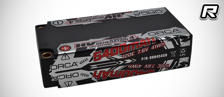 red rc rc car news orca generation 4 graphene lihv battery packs. Black Bedroom Furniture Sets. Home Design Ideas