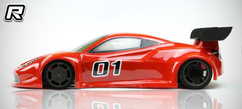 Red RC RC Car News Phat Bodies GTF GT Body Shell - Phat cars