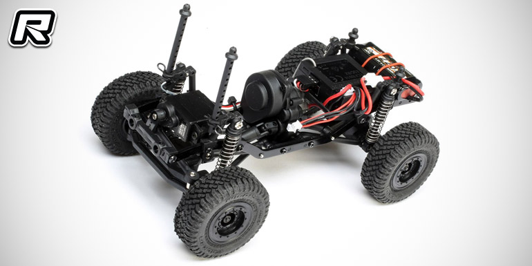 Ecx 1 24 Barrage Uv Fpv 4wd Scaler Crawler Rtr Red Rc