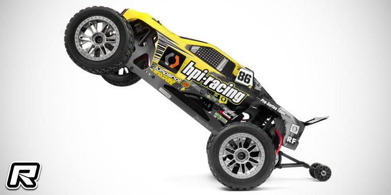 HPI Racing Jumpshot ST & MT wheelie bar set - Red RC
