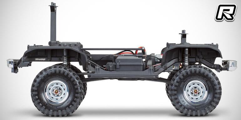 Traxxas TRX-4 Chevy Blazer trail truck - Red RC
