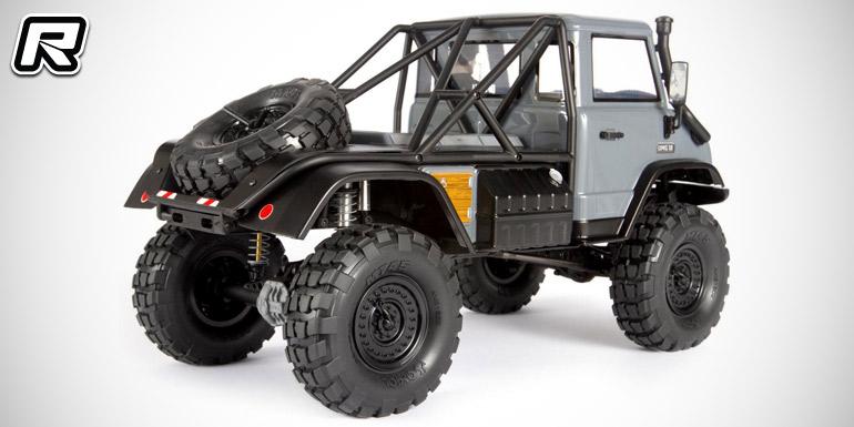 Ball Bearings Car >> Axial SCX10 II UMG10 4WD rock crawler kit - Red RC - RC