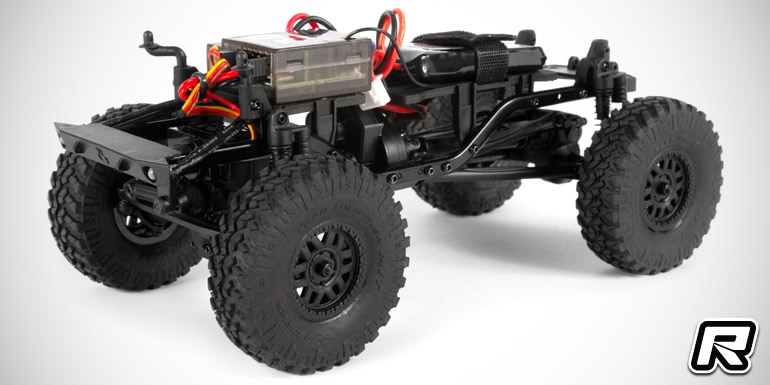 Axial 1/24 SCX24 Deadbolt 4WD RTR rock crawler - Red RC