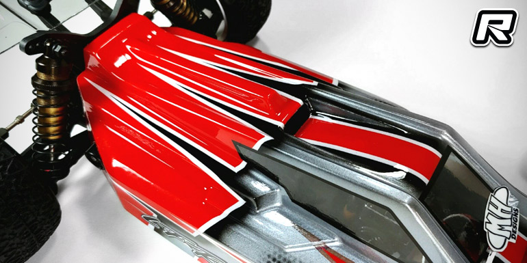 Leadfinger Racing Rb7 A2 Tactic Body Shell Red Rc