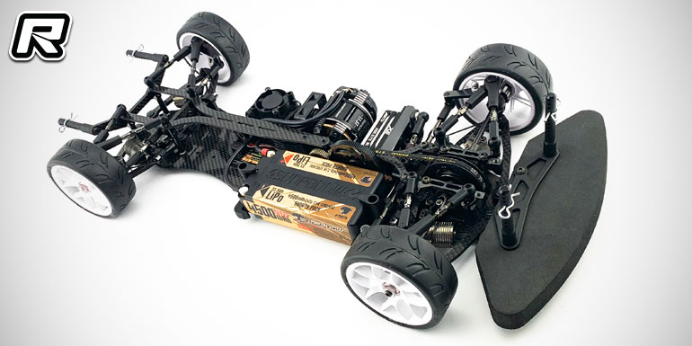 Awesomatix A800FX 1/10 front-wheel drive touring car - Red RC