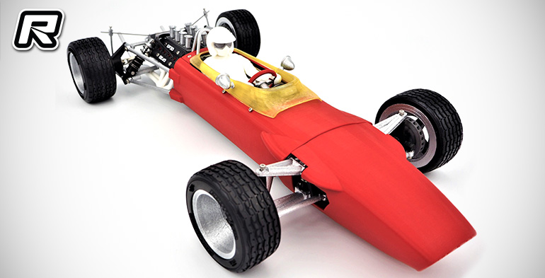 Grand Prix 3D 1/10th scale 1960s Formula 1