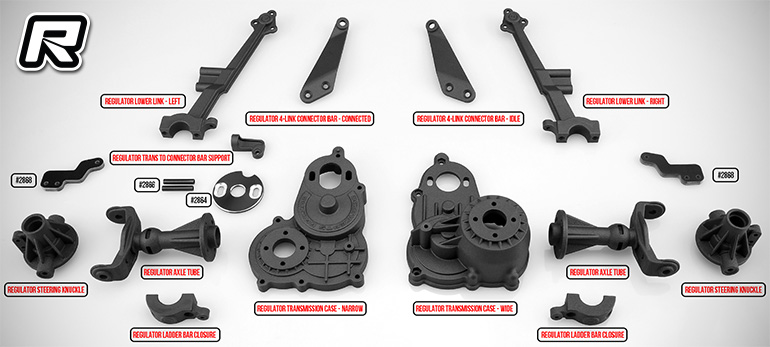 JConcepts Regulator option parts