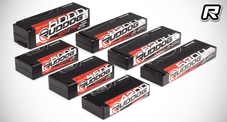 Ruddog Racing line of competition LiPo batteries