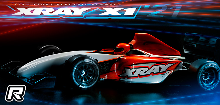Xray X1'21 1/10th Formula chassis