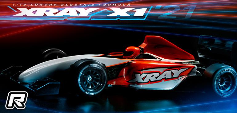 Xray X1'21 1/10th Formula chassis