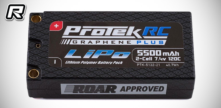 Protek Graphene Plus LiPo packs