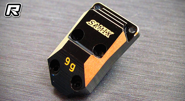 Samix SCX24 brass differential cover